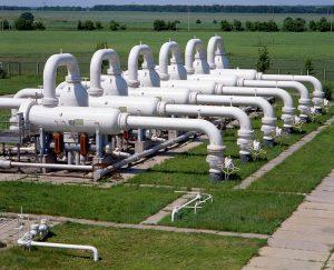 Gas industry, underground gas storage facilities